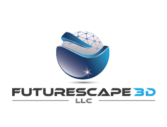 Futurescape 3D LLC logo design