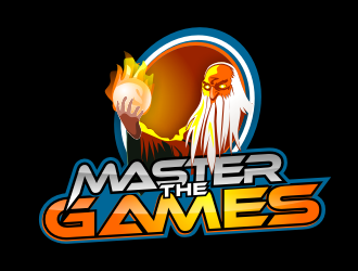 Master The Games logo design