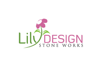 Lily DESIGN : Stone Works logo design