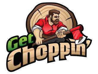 Get Choppin' logo design