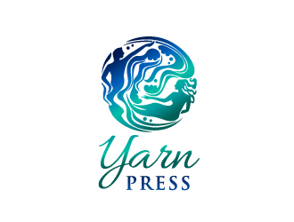 Yarn Press logo design
