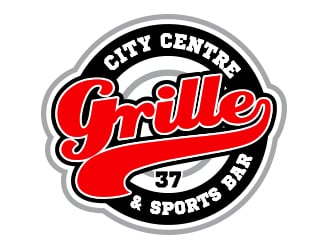 City Centre Grille Sports Bar logo design