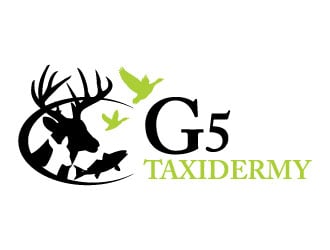 G5 Taxidermy logo design