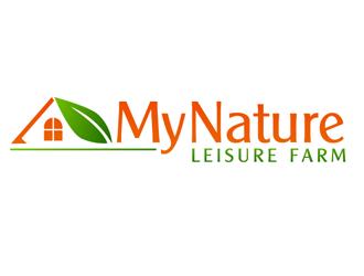 My Nature Leisure Farm logo design