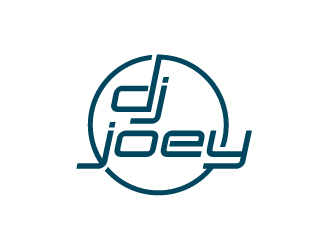 DJ JOEY logo design