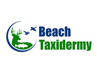 Beach Taxidermy logo design