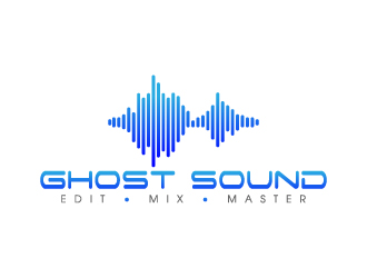 Ghost Sound logo design