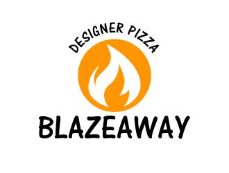 BLAZEAWAY logo design