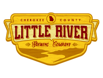 Little River Brewing Company (or Co.) logo design