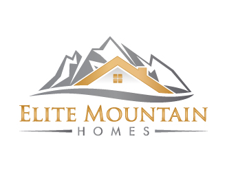 Elite Mountain Homes logo winner