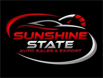 Sunshine Auto Sales >> Sunshine State Auto Sales Export Logo Design 48hourslogo Com