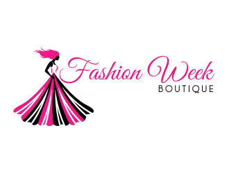 Fashion Week Boutique Logo Design