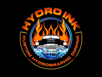 Hydro Ink logo design
