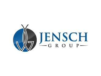JENSCH GROUP logo design