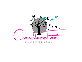 Candace Fast Photography logo design