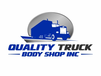 Quality Truck Body Shop Inc. logo design