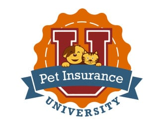 Pet Insurance University logo design
