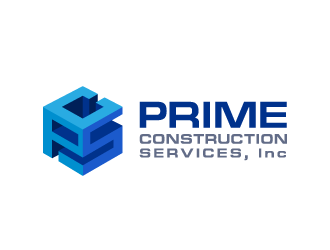 Prime Construction Services, Inc. logo design