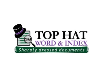Top Hat Word & Index logo design
