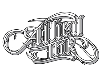 Allied Ink logo design