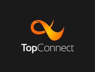 TopConnect logo design