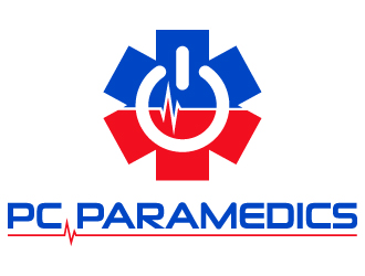 PC Paramedics logo design