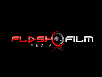 FlashFIlm Media logo design