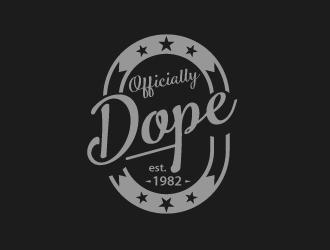 Officially Dope est. 1982 logo design