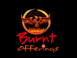 Burnt Offerings logo design