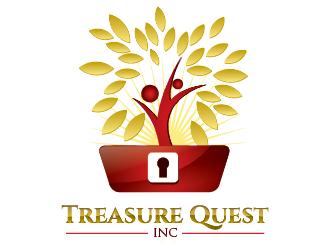 Treasure Quest, Inc. logo design
