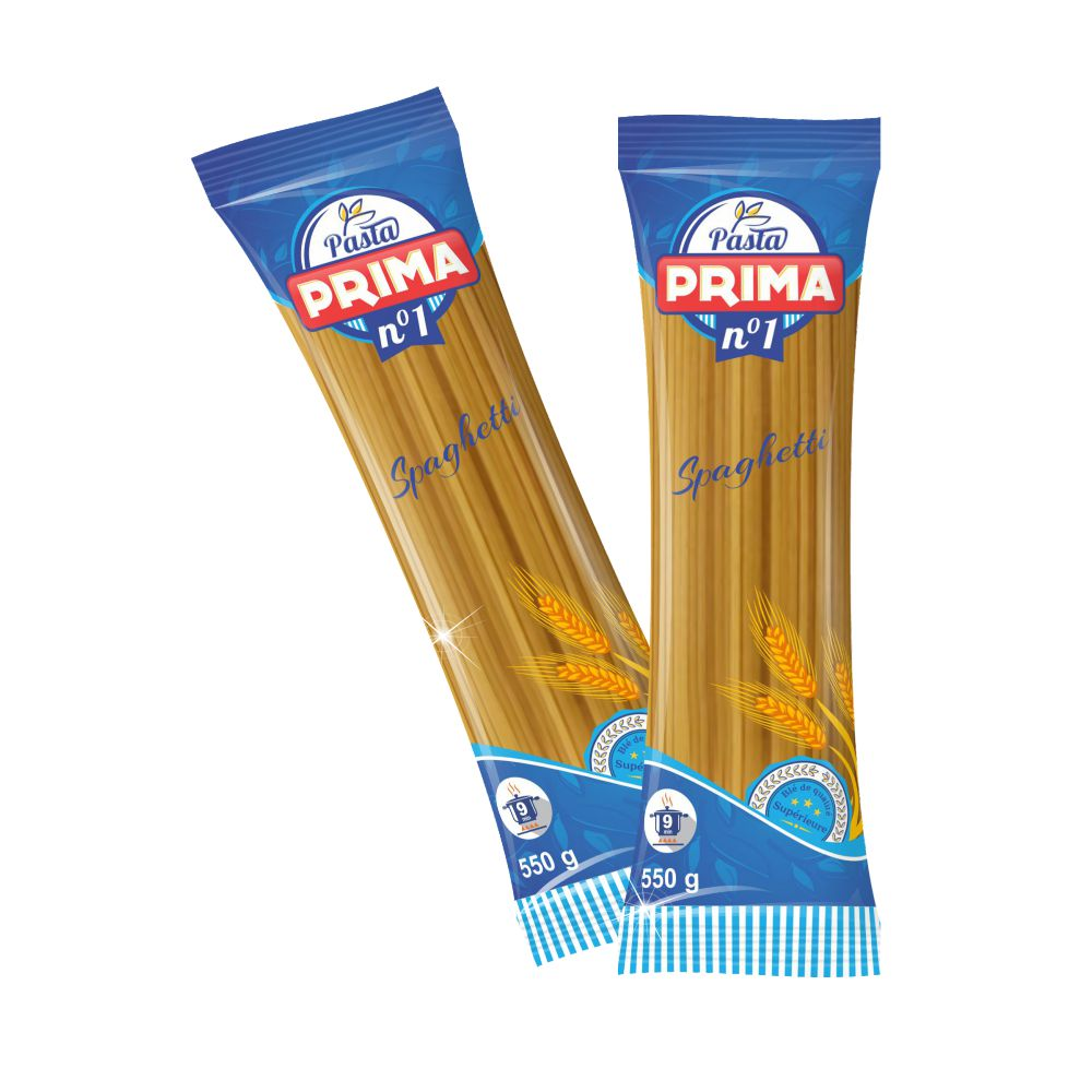 PASTA PRIMA - The Spaghetti packaging design ! logo design