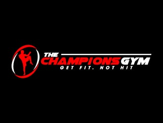 The Champions Gym logo design