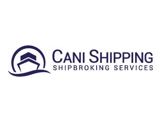 Cani Shipping      Shipbroking Services logo design
