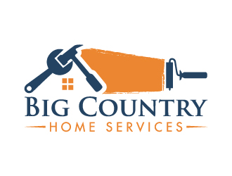 Big Country Home Services logo design