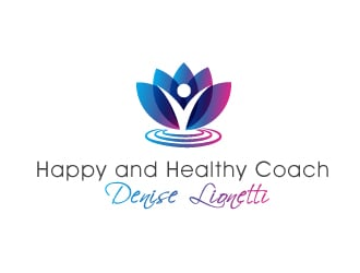 Happy and Healthy Coach Denise Lionetti logo design