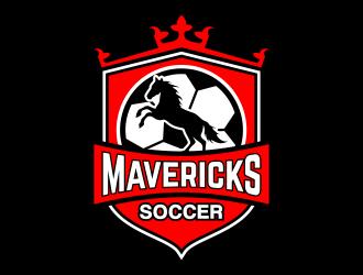 Mavericks Soccer logo design