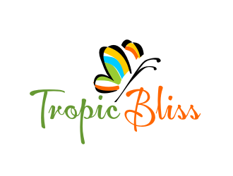 Tropic Bliss logo design