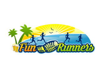 Fun Runners logo design
