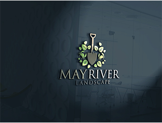 May River Landscaping logo design
