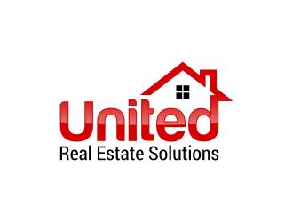 United Real Estate Solutions logo design