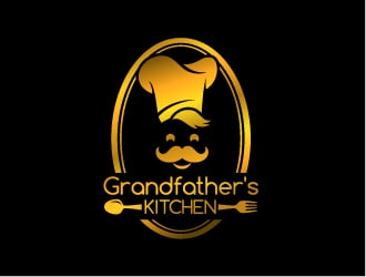 Grandfather's Kitchen logo design