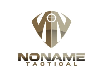 No Name Tactical logo design