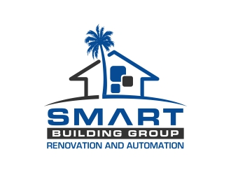 Smart Building Group logo design