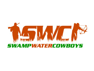 Swamp water Cowboys logo design
