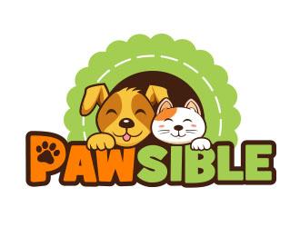 PAWSIBLE logo design