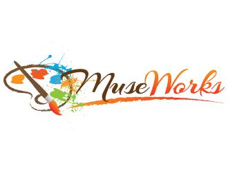 MuseWorks logo design