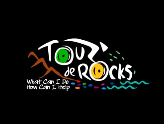 Tour De Rocks logo design