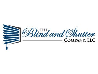 The Blind And Shutter Company Llc Logo Design