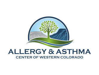 Allergy & Asthma Center of Western Colorado logo design