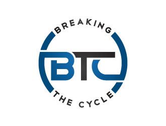 Breaking The Cycle (BTC) logo design